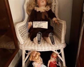 Heinrich Handwerck Simon Halbig Doll