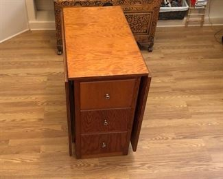 Wood Craft Table, Closed