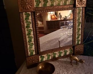 Mexican style mirror