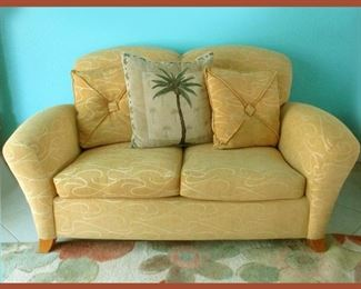 Cute Cottagey Love Seat