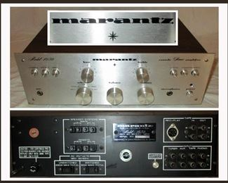 Marantz Console Stereo Amplifier Model 1030 in Excellent Working Order