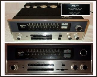 McIntosh Mac 1900 AM/FM Solid State Stereo Receiver in Excellent Working Order with Original Owner's Manual