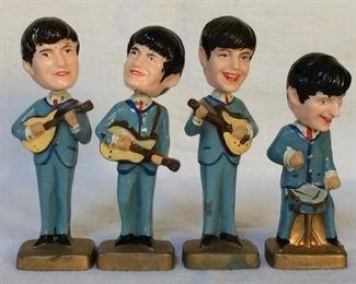 60s Beatles Bobbleheads