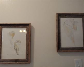 Artwork-Seashells