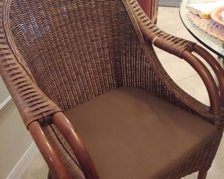 Chair without Accent Pillows
