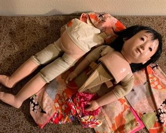 Very Large Japanese Doll.