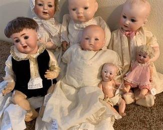 Antique German Babies.