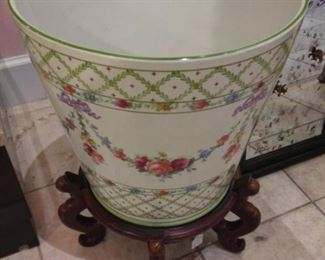 Large Porcelain Planter