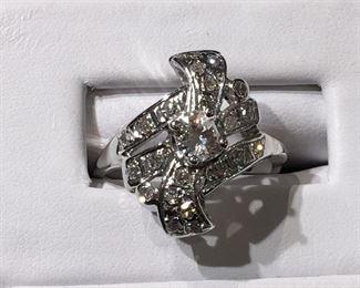 Vintage Diamond Ring in Gold