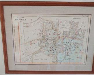 1905 Map of Princeton
