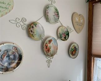 hand-painted plates yet