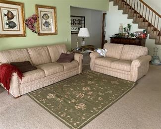 Sofa and loveseat  to match