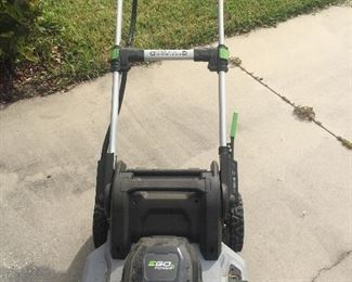 Battery Powered Mower