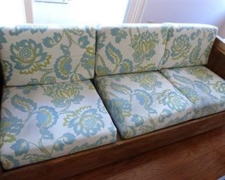 Nice couch, good for a play room or den.