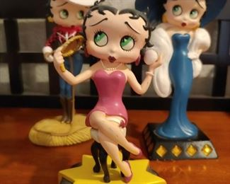 "Bring a Little ""Boop-Oop-a-Doop"" to your life. Betty Boop figurines, Christmas Ornaments, Dolls."