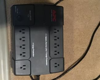APC surge protector and battery back-up