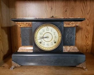 Antique Clock w/Key