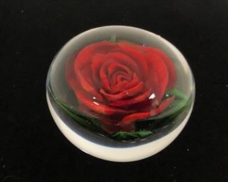 "Rick Ayotte ""Fulfillment"" American red rose."
