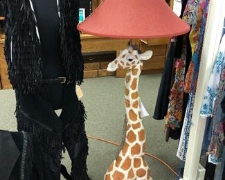 Whimsical Giraffe Floor lamp