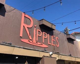 Gay pride/historical Ripples club/bar