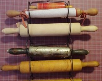 ANTIQUE ROLLING PINS SOLD INDIVIDUALLY