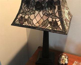 Leaded Shade Lamp $ 138.00