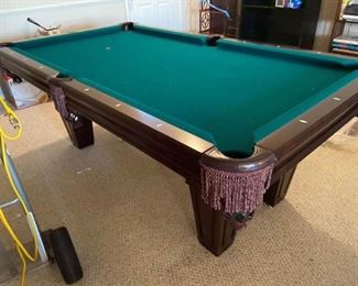 001 Brunswick Pool Table
