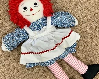 Raggedy Ann - did you know the original is over 100 years old ?