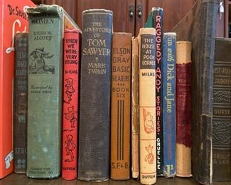 Vintage and first edition books