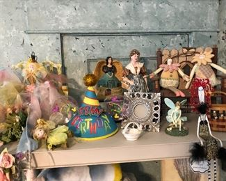 Figurines and fairies
