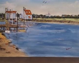 Oil on canvas by Sue Brown