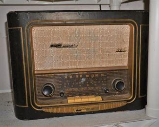 Vintage German radio