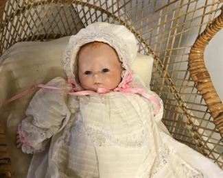 Doll in Buggy
