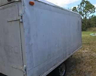 Trailer for Hauling or Storing