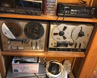 Vintage Reel to Reels and Tapes for Sale
