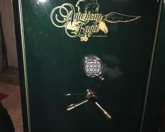 . . . a great American Eagle fire arm safe -- retailed at $900.00.