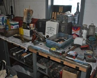 Tools, Fittings. The owner was a Welder