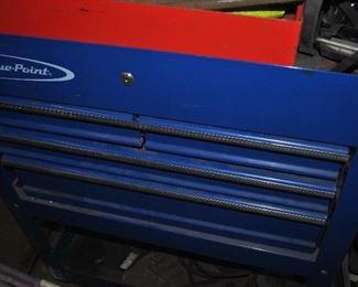 Blue Point Floor Model Tool Cabinet