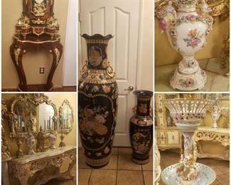 German ceramic home Decor.