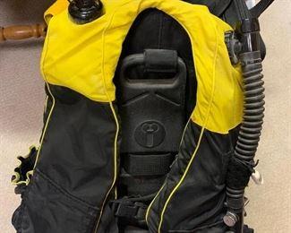 Scuba backpack $50