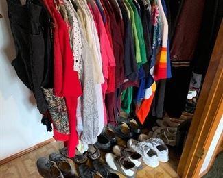 Clothes $5-10 each  Shoes $5 each