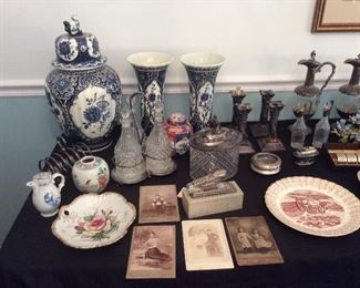 Nice collectibles and silverplate items