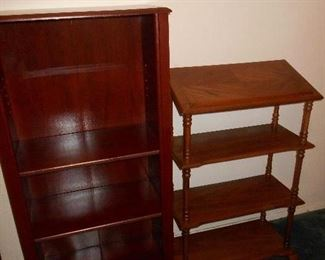 Bookcase/display shelves