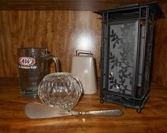 A&W mug and other