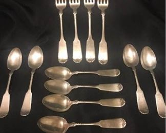 RW and S Sterling Flatware