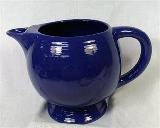 Fiesta ceramic glazed pot blue https://ctbids.com/#!/description/share/344555