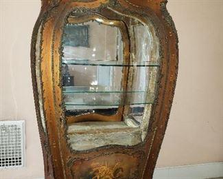 Vernis Martin vitrine cabinet circa 1890