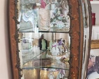 Contents inside vitrine cabinet are not available - for display purposes only.