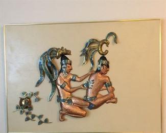 cooper & brass unusual wall decor