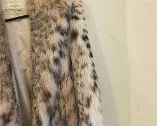 Full Length Lynx Coat
